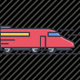 machine, movement, train, transport, transportation icon