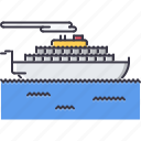 machine, motor, movement, ship, transport, transportation, vessel icon