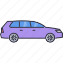 car, machine, movement, station, transport, transportation, wagon icon