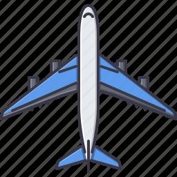 airplane, machine, movement, transport, transportation icon