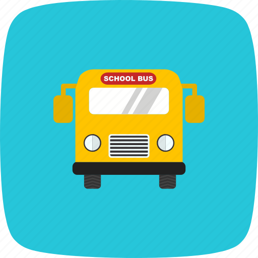 bus, heavy, school, schoolbus, transport, travel, truck icon