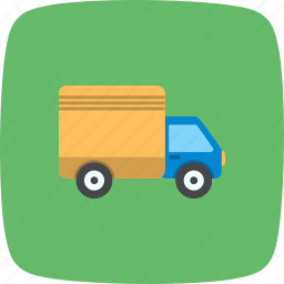 transport, travel, truck, vehicle icon