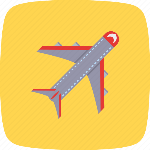 aeroplane, aircraft, airdrop, airplane, fly, travel, traveling icon