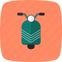 bike, scooter, travel, vespa icon