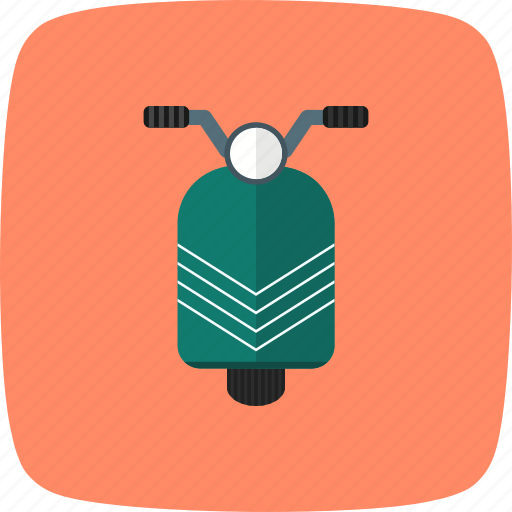 bike, delivery, ride, scooter, scooty, travel, vespa icon
