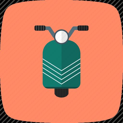 bike, scooter, travel, vespa icon