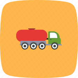 cargo, fuel, gas, tank, transportation, travel, trucktank icon
