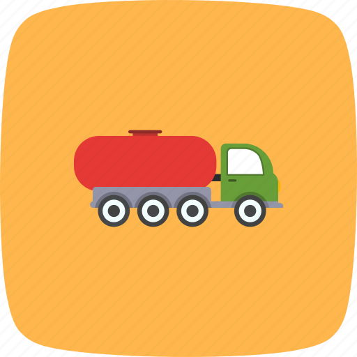 Oil tank, oil tanker, tank truck icon - Download on Iconfinder
