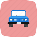 jeep, suv, transport, vehicle icon