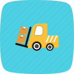 cargo, carrier, truck, vehicle icon