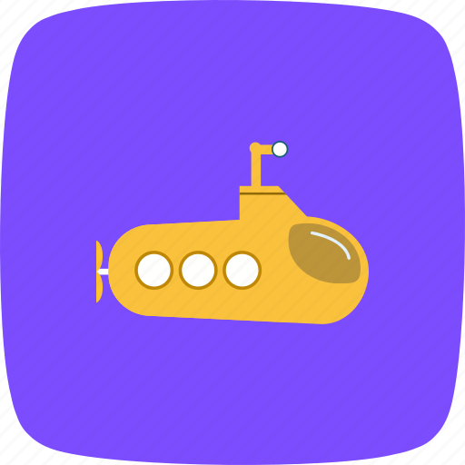military, sub marine, submarine icon