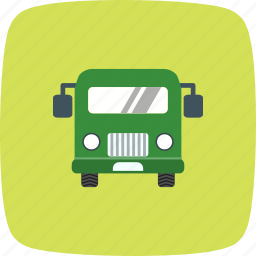 airport, bus, station, stop, transport, travel icon