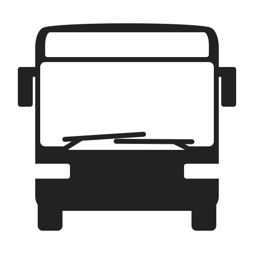 bus, car, front, renault, transport, transportation icon