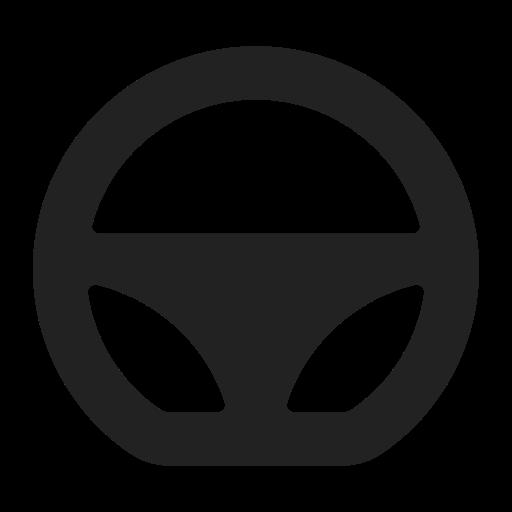 auto, car, steering, turn, vehicle icon