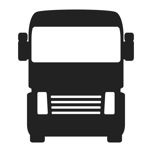 delivery, front, logistics, renault, truck, vehicle icon