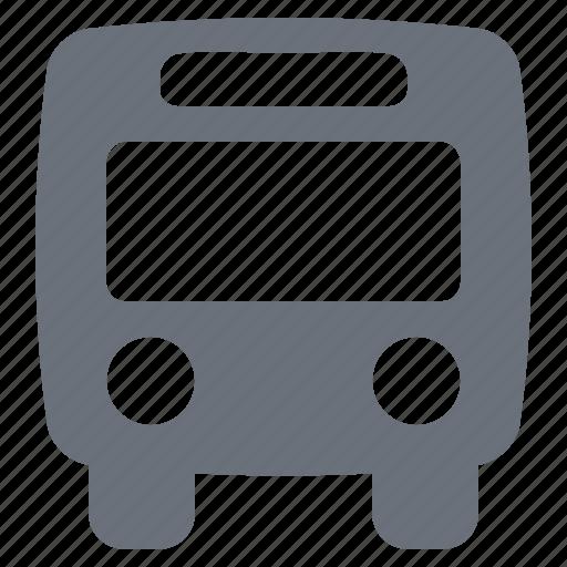 bus, city bus, pika, simple, traffic, transport, transportation, travel icon