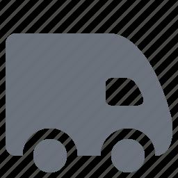 delivery van, pika, simple, traffic, transport, transportation, travel, van icon