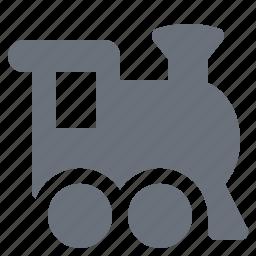 locomotive, pika, simple, traffic, train, transport, transportation, travel icon