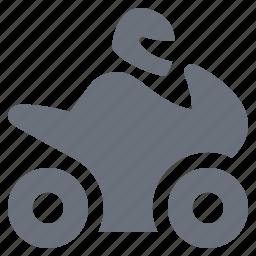 bike, motorcycle, pika, simple, traffic, transport, transportation, travel icon