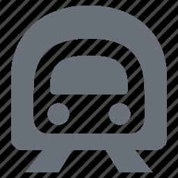 metro, pika, simple, subway, traffic, train, transport, transportation, travel, tunnel icon