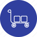 retail, shopping, trolley icon