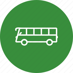 bus, schoolbus, station, stop, street, transportation, travel icon