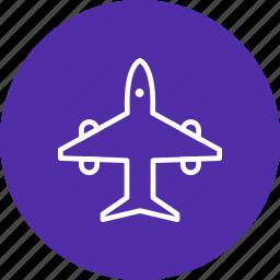 aero plane, air craft, air plane, travel icon