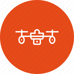 camera, copter, drone, dronecamera, fly, helpful, surveillance icon