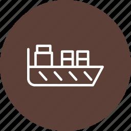 boat, sail, ship icon