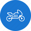 bike, heavy bike, motor cycle icon