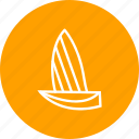 boat, boating, sail, sailboat, ship, yacht, yachting icon