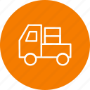 cargo, carrier, truck icon