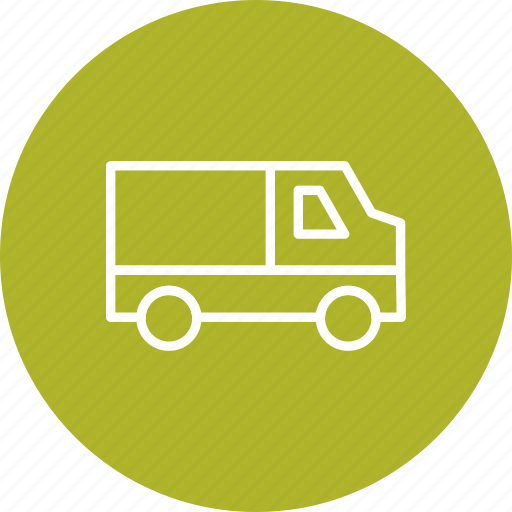 cargo, delivery, pickanddrop, shipping, travel, van, vehicle icon