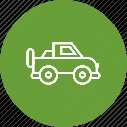 jeep, suv, vehicle icon