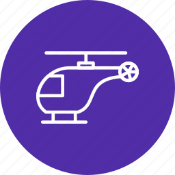 flight, helicopter, transport, travel icon