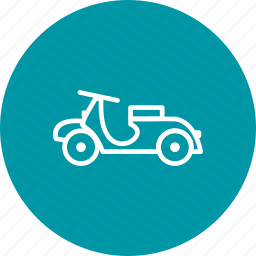bike, classic, motor, scooter, scooty, travel, vespa icon