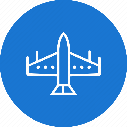 Fighter, jet, airplane icon - Download on Iconfinder