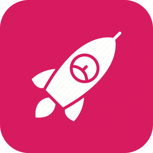 launch, rocket, space ship icon
