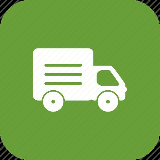 transport, travel, truck icon