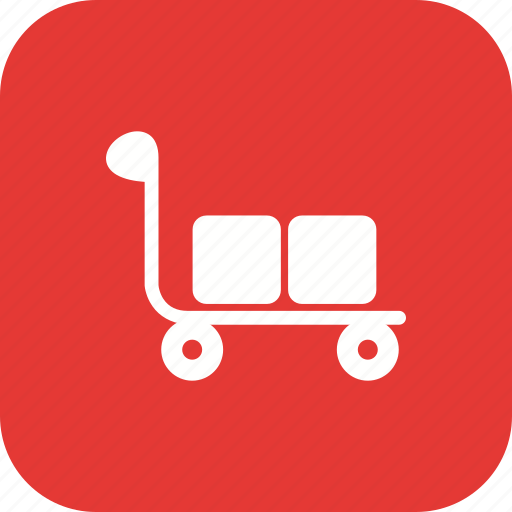 retail, shop, shopping, trolley icon