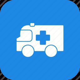 ambulance, emergency, first aid, medical icon