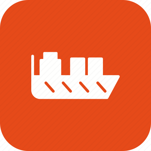 export, import, ship, shipping icon