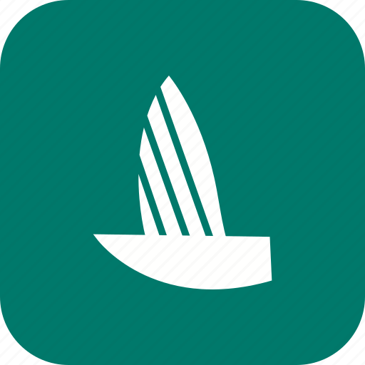 boat, sail boat, yacht icon