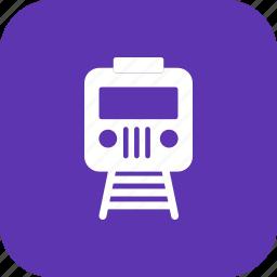 express, platform, railway, subway, train, transport, travel icon