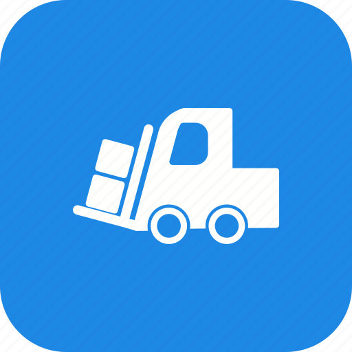 heavy, loader, machine, work icon