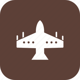 airplane, armed, f16, fighter, fighterjet, jet, missile icon