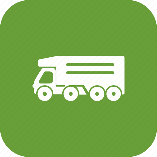 cargo, delivery truck, tipper truck icon
