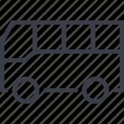 bus, passenger transportation, transport, transportation, vehicle icon