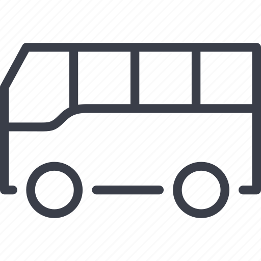 bus, passenger transportation, transport, transportation, vehicle icon
