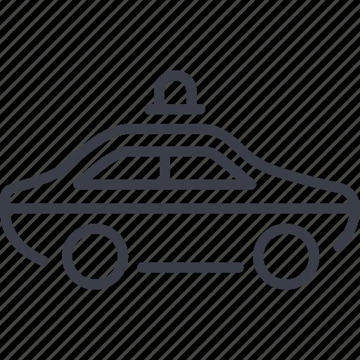 patrol car, the pursuit, transport, transportation icon